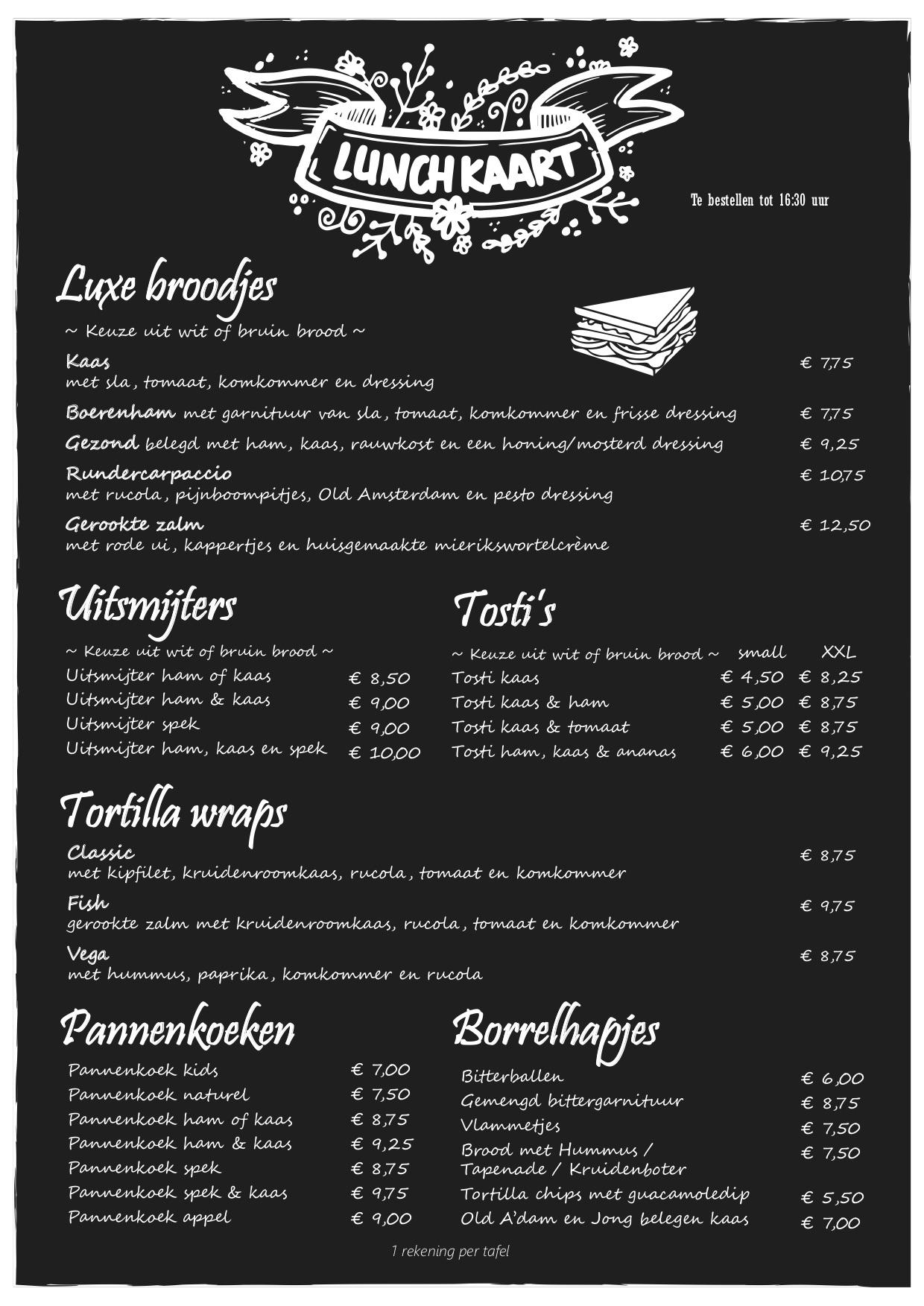 lunchkaart beau4